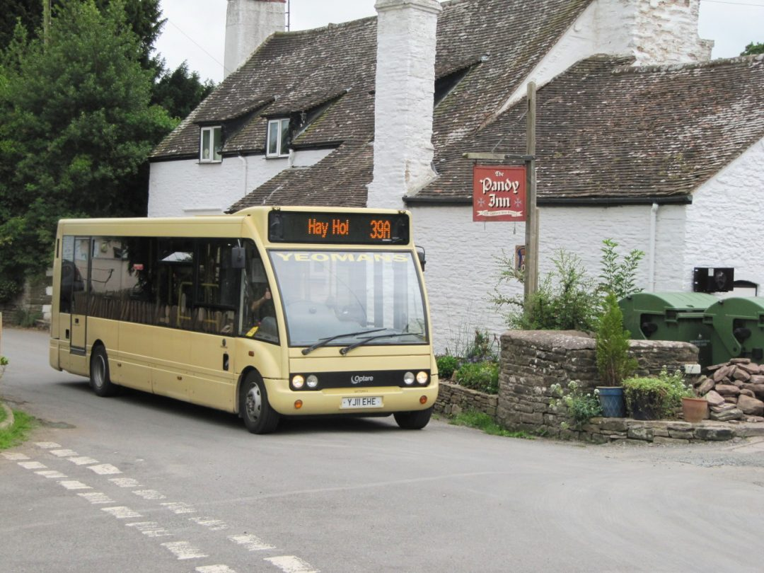 Hay Ho! Bus Herefordshire